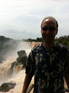Jason Iguazu Falls Argentina 2